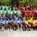 Seton Senior Teaches Baseball to Haitian Children