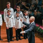 Former All Saints Student Sings with Vienna Boys' Choir