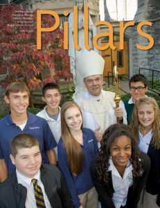 Cover of Winter 2014 Pillars magazine