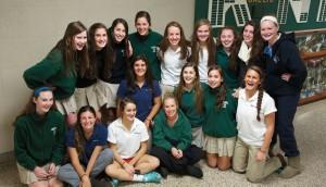 girls combined lacrosse team