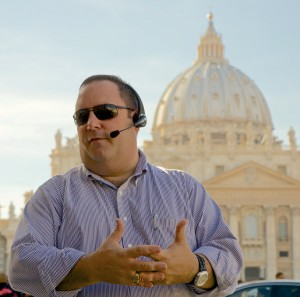 Chris Mominey in Rome