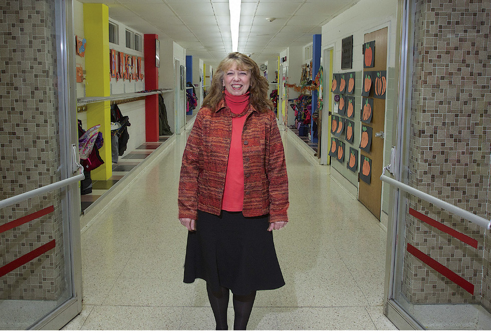 Patricia Bliss at Rome Catholic School