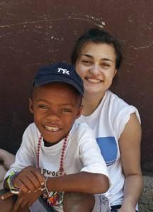 Seton Catholic High School student on mission trip in Haiti